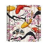 Xmiral Duschvorhänge Tier Blume Landschaf Kakteengewächse Gedruckte BadewanneVorhang Badezimmervorhang 180cmx180cm(AD)