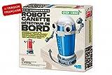 4M Kidz Labs Kit de Fabrication Green Science : Robot canette Détecteur de Bord
