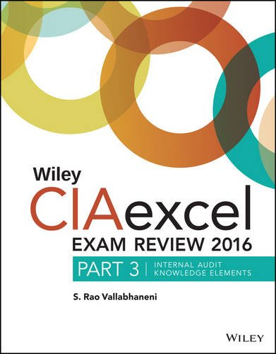 Review 2016: Part 3, Internal Audit Knowledge Elements (Wiley CIA Exam Review) ()