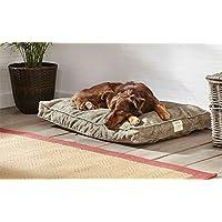 Orvis Comfortfill Original Platform Dog Bed / Large Dogs 60-90 Lbs., Brown Tweed,