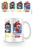 empireposter Nintendo - Super Mario - Dates - Keramik Tasse - Größe Ø8,5 H9,5cm