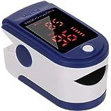Sensore di impulso digitale a punta delle dita Saturazione Mini Monitor Misuratore di Frequenza di impulso per la Casa…