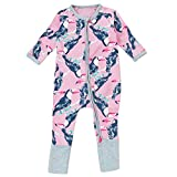 Le SSara Baby Boy Long Sleeve Cartoon Parrot pattern Bodysuit Costume Outfits (6-9 mois)