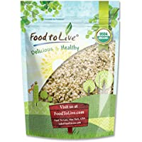 Semillas de cáñamo Bio canadiense by Food to Live (Eco, Ecológico, Corazones crudos, no OGM, kosher, a granel) 453 gramos