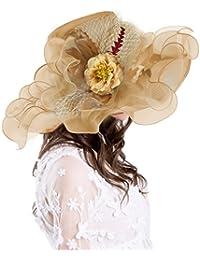 WensLTD Jewelry wensltd Schmuck Hochzeit Party Hut Mode Frauen Fascinator Mesh Hat B/änder und Federn Hochzeit Party Hat