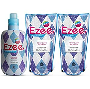 Godrej Ezee Liquid Detergent - 1 kg with Two Refills - 1 kg (3 kg Pack)