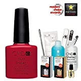 CND Shellac Top/Base/Essential/Color Starter Maniküre-Set Wildfire