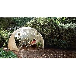 Garden Housse Protection solaire Igloo pour pavillon/serre/jardin Four Seasons Igloo Blanc