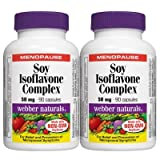 Webber Naturals® Soy Isoflavone Complex 2 x 90 capsules (Twin-pack) - Best Reviews Guide