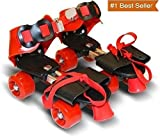 Famous Quality Roller Skates for Kids Age Group 4-12 Years Adjustable Inline Skating Shoes with School Sport - Multi Color (Offer 1 Year Warranty)