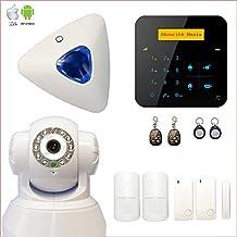 Alarma Casa inalámbrico A9GSM + cámara IP WIFI rotativa–seguridad Mania