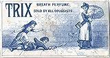 POSTER Trix Breath Perfume Miami Wall Art Print A3 replica
