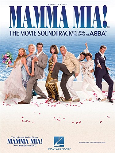 Mamma Mia!: The Movie Soundtrack Featuring The Songs Of Abba - Big Note Piano - Partitions