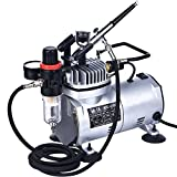 Best Airbrushes - Mini Airbrush Compressor Kit - AS18-2 Kit 1 Review