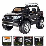 4x4 électrique 24Volts Ford Ranger WILDTRAK Cristom , télécommande 2.4ghz , pneu reelle , 2 places , Tablette tactile MP4 ,Prise USB/Radio FM/MP3 , clé reelle , licence FORD (noir)