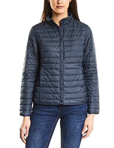 Street One Damen 200789 Jacke, Blau (Night Blue 10109), 40