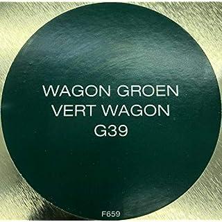Brico Hochglanz Alkydharzlack Kunstharzlack Innen/Außen waschbar 2,5L (Wagengrün G39)