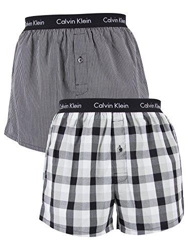 calvin-klein-herren-boxershorts-2p-slim-fit-boxer-schwarz-london-plaid-black-heine-stri-dks-large