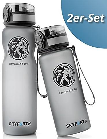 [2 Pack] Trinkflaschen