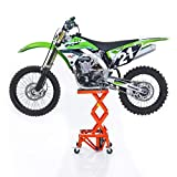 Pont Elevateur Hydraulique ConStands Moto Cross Lift XL + Roulettes Orange pour KTM...