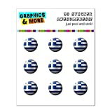 Drapeau de la Grèce de football Soccer Ball Futbol Home Button Stickers pour Apple...