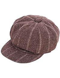 Scrox 1x Hombre Mujer Sombreros Gorras Boinas Sombrero de Pintor Moda  Vintage Estilo Británico Casquillo Unisex cba57c7a22e