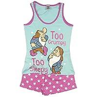 Character Clothing Ladies Girls Novelty Shortie Shorts Pjs Ariel Wonder Woman Batgirl Minnie Moose Tatty Teddy Eeyore 8-22