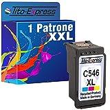PlatinumSerie® 1x Tinten-Patrone XXL Color für Canon CL-546 XL MG2400 Series MG2950 MG2455 MG2940 MG2950 S MG2950 S MG3051 MG3052