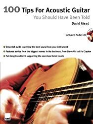 100 Tips for Acoustic Guitar You Should Have Been Told (Book & CD)