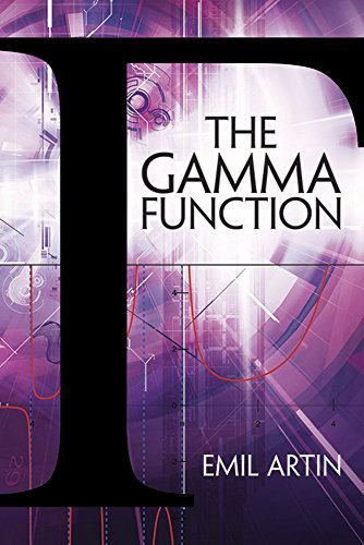 The Gamma Function (Dover Books on Mathematics) by Emil Artin (2015-03-18)
