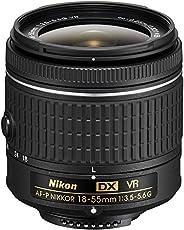 Nikon af-p DX Nikkor 18-55mm f/3.5–5.6G VR per 2013e più recenti modelli Nikon (Ricondizionato)
