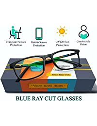 Silvercare Blue Cut glasses with UV420 and Anti-Reflection Protection for Healthy Eyes(unisex | medium)