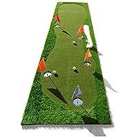 Jia He Tapetes de Golf Práctica de práctica de Golf en Interiores Putt Practice Mat 2 Color Opcional @ (Color : 1#)