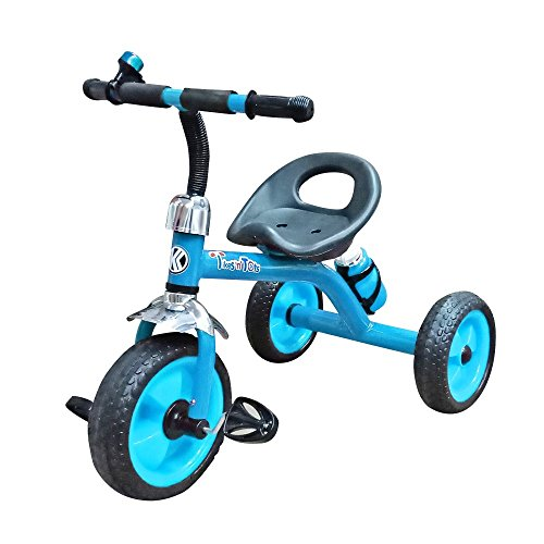 Nagar International Baby tricycle metal body 2+ years Baby (Blue)  available at amazon for Rs.1399