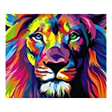 Full Drill Lion Animal 5D Diamond DIY Painting Craft Kit Amazingdeal365 Home Decor