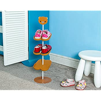 addfun reg kids schuhregal kreativ bodenausf hrung rotierend schuh lagerung gestell. Black Bedroom Furniture Sets. Home Design Ideas