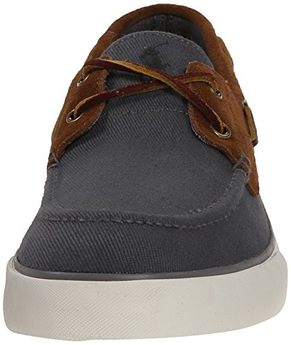 Polo Ralph Lauren Rylander Fashion Sneaker Charcoal Grey/New Snuff