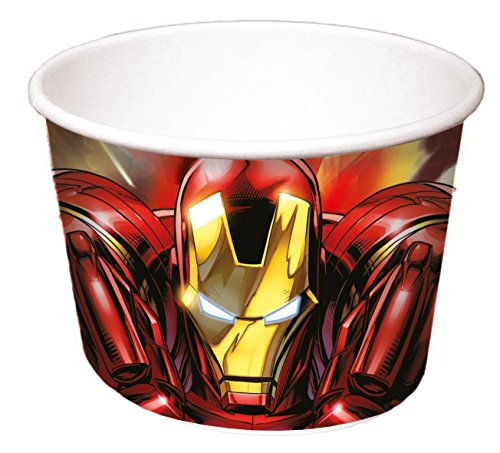 Marvel Avengers Assemble Eis Tubs, 8Stück