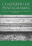 Cuaderno de pentagramas: 110 páginas. 6 pentagramas por página. Tamaño A4. Para PIANO