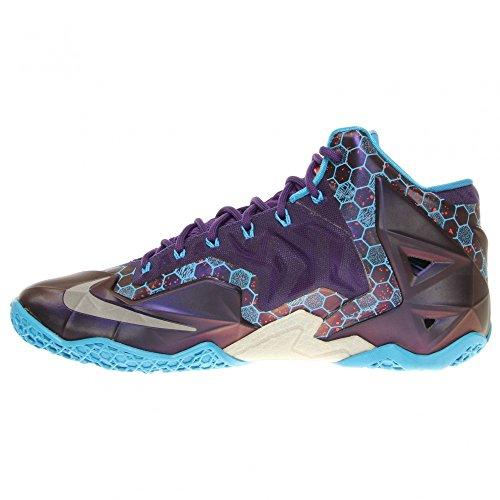 Nike Xi, Scarpe da Ginnastica Unisex – Adulto COURT PURPLE/RFLCT SLVR-VVD BL