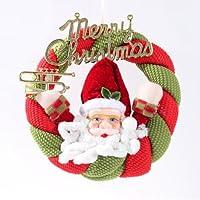Sweet Home Santa corona ghirlanda decorazione da appendere all' albero di Natale