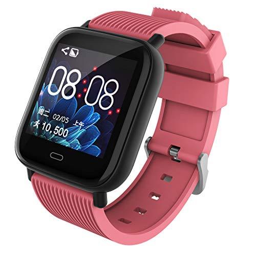f85bef9c62cb Sannysis Pulsera Actividad Pulsera Inteligente Impermeable IP67 Smartwatch  168 Idiomas Deporte Reloj Inteligente Monitor de Ritmo