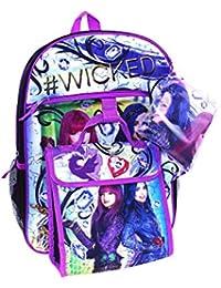 Disneys Descendants Evie & Mal 5-pc. Backpack Set