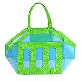 Cdet Kind Strand Spielwaren Beutel Strand Aufbewahrung Tasche Netztasche Sandspielzeug Aufbewahrungstasche Mesh Beach Bag Tote