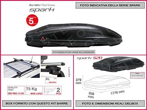box-portatutto-auto-in-kit-spark-520-lt-1776-x-938-x-379-compreso-barre-portatutto-portapacchi-chevr