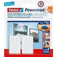Tesa 58031-00021-01 Gancho para cuadros, color blanco