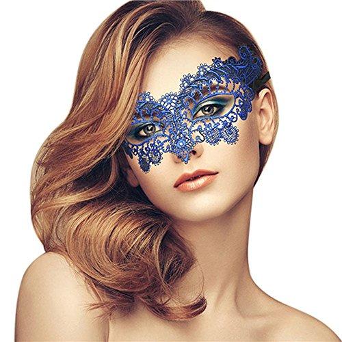 Lady of Luck Spitzenmaske Reizvoll Schleier Maske Spitze venezianischen Costume Party Maskerade Maske