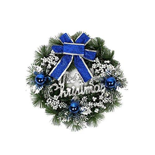Malloom® Christmas Party Leaf Herbst Tür Kranz Tür Wand Ornament Erntedankfest Dekor (Tumblr Halloween Dekor)