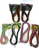 Naarilok Glitter And Normal Strings - Set Of 6 (Multicolour)