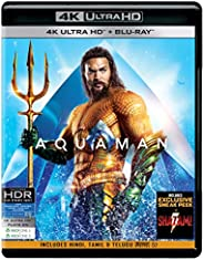 Aquaman (4K UHD & HD) (2-D